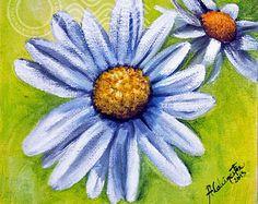 White Daisies Fine Art Print, wall art decor,Oil painting,original flowers painting,white floral wall decor,flowers art,ArtbyAFox