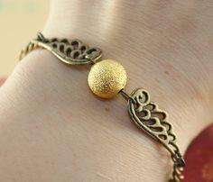 Golden Snitch Bracelet my-inner-geek