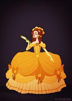 historical disney princess