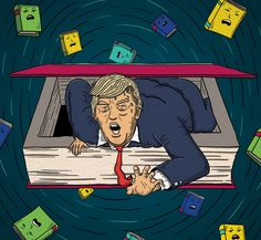 """Check out my @Behance project: """"The Literature of Donald Trump - New Statesman"""" https://www.behance.net/gallery/50019709/The-Literature-of-Donald-Trump-New-Statesman"""