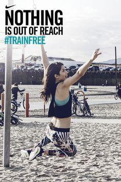 Strive further and mark new milestones. #trainfree #nike #motivation #inspiration