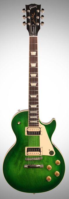 Gibson Les Paul Classic in Green Ocean Burst (2017)