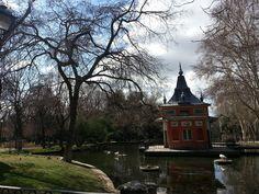 Uno de esos días fríos, de cielo azul y claro y aire fino, tan característicos de Madrid