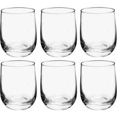 Buy Habitat Joy Glassware Set of 6 Tumbler Glasses - Clear at Argos. Thousands of products for same day delivery or fast store collection. Dustpans And Brushes, Champagne Glasses, Tumbler Cups, Argos, Ideal Home, Habitats, Wine Glass, Drinking, Joy