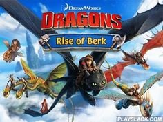 Dragons: Rise Of Berk  Android Game - playslack.com , make your own empire and defend it from ambushes of weird enemies.