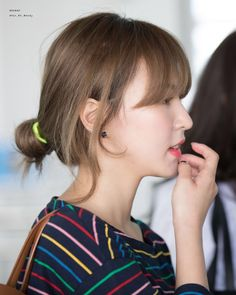 Nayeon Bias Wrecker Seulgi, Irene, Bad Boy, Wendy Red Velvet, Celebs, Celebrities, Hairstyles With Bangs, Ulzzang Girl, Fringes