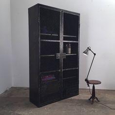 industrial 2 doors cabinet