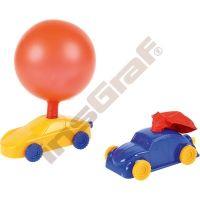 Pretekárske autíčko na balónik