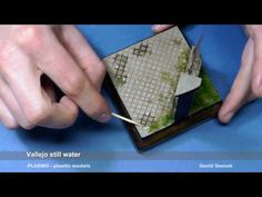 Building a realistic scenery stream diorama - YouTube