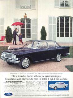 Ford Zodiac - Réalités, décembre 1962