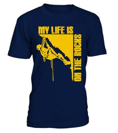 # [T Shirt]27-Rock Climbing My Life Is On .  Hurry Up!!! Get yours now!!! Don't be late!!! Rock Climbing My Life Is On The RocksTags: Climbing, Life, Rock, Rock, Climber, Rocks