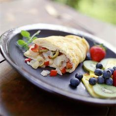 12 Breakfasts Under 250 Calories  | Spanish Omelets | MyRecipes.com