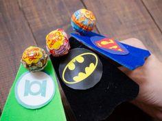 Receta de Cómo hacer paletas de Superhéroes