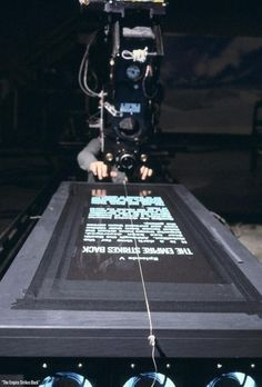 Twitter / HistoryInPix: How the opening crawl of Star ...