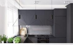 mieszkanie w Knurowie - Kuchnia, styl nowoczesny - zdjęcie od Spacja Studio