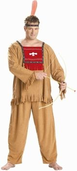 plus size indian warrior costume #thanksgiving  sc 1 st  Pinterest & Adult Running Bull Indian Costume Mens Small California Costumes ...