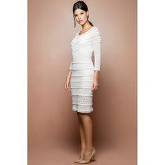 US$ 3,490.00 - White Poupee Crochet Dress - Vanessa Montoro USA - vanessamontorolojausa
