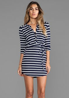 L agence long henley dress no dress