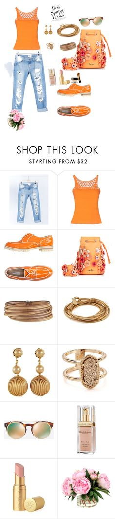 """Best Spring Looks"" by fabsouza ❤ liked on Polyvore featuring Cello, Maria Di Ripabianca, Fratelli Rossetti, Marina Hoermanseder, Alor, Lizzy James, Miriam Haskell, Kendra Scott, Valentino and Elizabeth Arden"