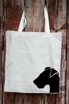 - Description - Features - Breed Info Description The Airedale Terrier Cotton Twill Tote Bag is the perfect gift for the Airedale Terrier dog lover in your life. These tote bags are handmade from the