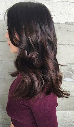 dark brunette hair color shades