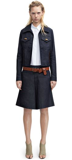 Acne Studios - Tail Raw Indigo Shop Ready to Wear, Accessories, Shoes and Denim for Men and Women