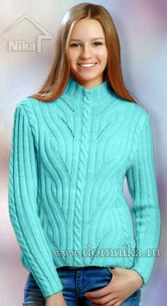 Pullover Sweater inspiration for bulky weight yarn Poncho Dress, Hooded Poncho, Poncho Sweater, Pullover Sweaters, Knitting Paterns, Cable Knitting, Jackets For Women, Sweaters For Women, Crochet Clothes