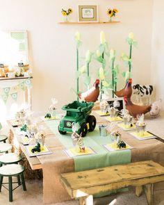 John Deere Tractor Party Ideas for little boys!