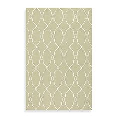 This sage and ivory Afton Rug is highlighted by simplicity and sophistication. The hand woven flat weave construction features a fresh and fun pattern that will coordinate with any decor.