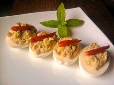 Tuna Deviled Eggs Recipe