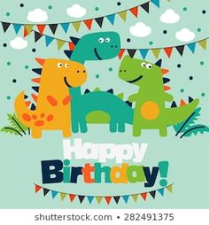 Happy Birthday Frame, Birthday Frames, 2nd Birthday, Birthday Quotes, Birthday Wishes, Happy Bird Day, Baby Dinosaurs, Dinosaur Party, Birthdays