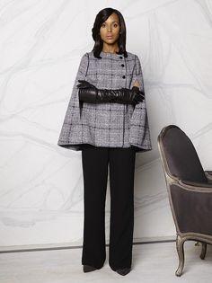 d11eb3354bf4 Olivia Pope dans la série TV Scandal Manteau Chic