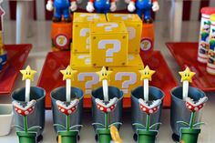Sweet Memories Party D's Birthday / Super Mario Bros - Photo Gallery at Catch My Party Dad Birthday Cakes, Birthday Party Snacks, Funny Birthday Cards, Man Birthday, Birthday Celebration, Birthday Nails, Mario Bros., Mario And Luigi, Super Mario Party