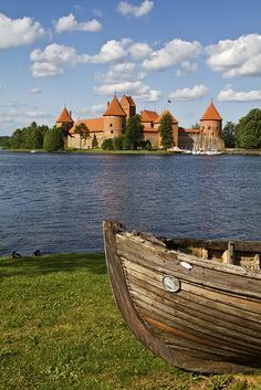 Trakai Castle, Vilnius County, Lithuania ~ my mother's birthplace, and still have relatives living here :)