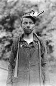 Lewis Hine  His photographs are very powerful in their depiction of child labor in earlier times before there were laws protecting the youth in our country from being taken advantage of by companies of their day.