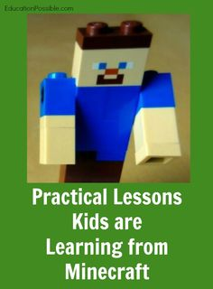 Practical Lessons Kids are Learning from Minecraft @Education Possible