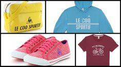 Alguns dos produtos da Le Coq Sportif já à venda no Brasil (Foto: Divulgação)