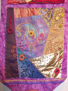 """Inspired by India"" by Artshape Cinderford 5 Gloucestershire Resource Centre http://www.grcltd.org/scrapstore/"