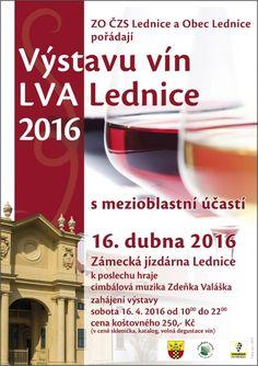 Výstavu vín LVA Lednice 2016