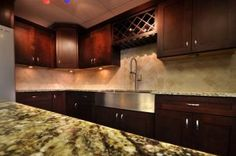 Espresso Shaker Cabinets - Get the best Espresso Shaker Cabinets from Premium Cabinets Bathroom Cabinets, Kitchen Cabinets, Espresso Cabinets, Shaker Cabinets, Cool Kitchens, Home Projects, Kitchen Remodel, Building A House, Nice Kitchen