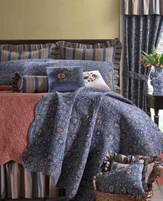 Wakefield Quilt and accessories available @ CountryPorch.com