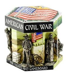 Union Army Figurines & Gameboard