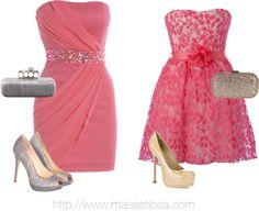 vestidos rosas lindos!
