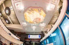 Оформление потолка / аэропорт