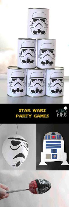 Star Wars Party-Spiele Kindergeburtstag // Star Wars Party Games kids birthday