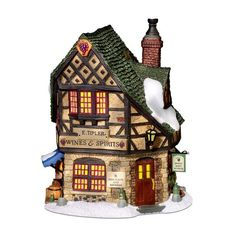 Department 56 Dickens Village E Tipler Agent Wine Spirits