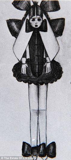 L. S. LOWRY.....erotic drawings, LAURENCE STEPHEN LOWRY... 11/1/1887--2/23/1976