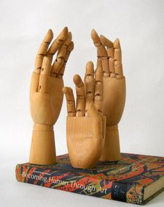 Artist model hands, instant collection