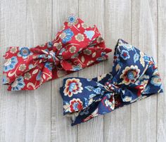 CLEARANCE Country Vintage Wrap Floral Bow by BrittsBowtiqueVA