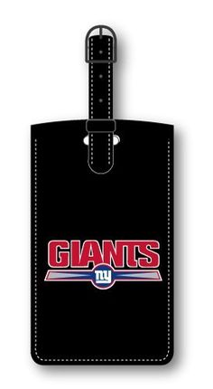 New York Giants Leatherette Luggage Tag http://www.sunsetkeychains.com/New-York-Giants-Leatherette-Luggage/dp/B005POWCES #thekeychainkid